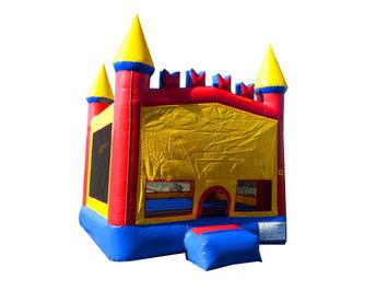 Jump Orange JumpOrange 13-foot Rainbow Inflatable Bouncy Castle
