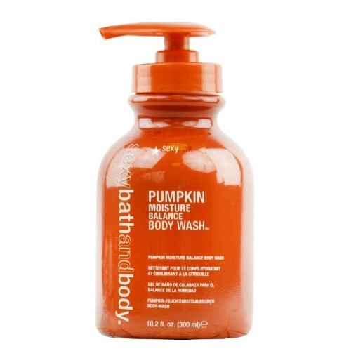 Sexy Bath and Body Pumpkin Moisture Balance Body Wash, 10 oz