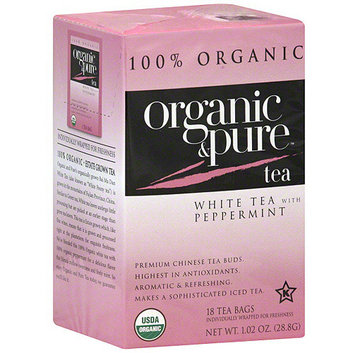Organic & Pure White Tea With Peppermint