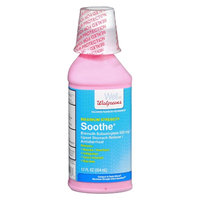 Walgreens Soothe Upset Stomach Reliever/Antidiarrheal Liquid