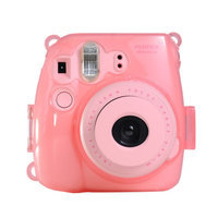 Colorful Plastic Protect Case for Fujifilm Instax Mini 8 Polaroid Camera Pink