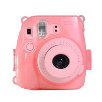 Colorful Plastic Protect Case for Fujifilm Instax Mini 8 Polaroid Camera Pink