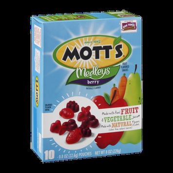 Mott's Medleys Fruit Flavored Snacks Berry - 10 CT