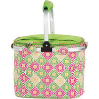 Picnic Plus Shelby Collapsible Market Tote Green Gazebo