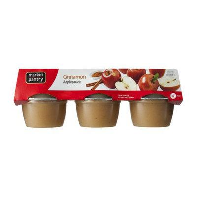 Market Pantry Applesauce Cinnamon 24-oz. 6-pk.
