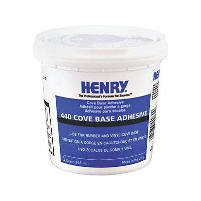 Ww Henry 440-034 Cove Base Adhesive 1 Quart Number 440