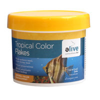 Elive Tropical Color Flakes Fish Food, .5 oz ()