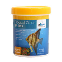 Elive Tropical Color Flakes Fish Food, 1.2 oz ()