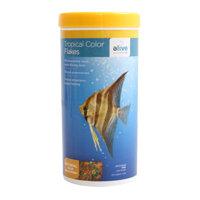 Elive Tropical Color Flakes Fish Food, 2.6 oz ()