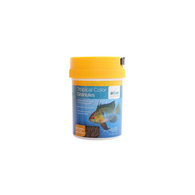 Elive Tropical Color Granule Fish Food, 6 oz ()