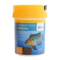 Elive Tropical Color Granule Fish Food, 3.5 oz ()