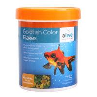 Elive Goldfish Color Flakes Fish Food, .5 oz ()