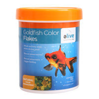 Elive Goldfish Color Flakes Fish Food, 1.2 oz ()