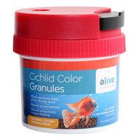 Elive Cichlid Color Granules Fish Food, 3.5 oz. ()
