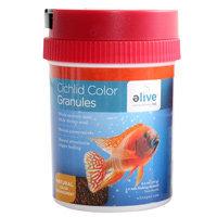 Elive Cichlid Color Granules Fish Food, 6 oz. ()