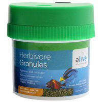 Elive Herbivor Granules Fish Food, 3.5 oz. ()