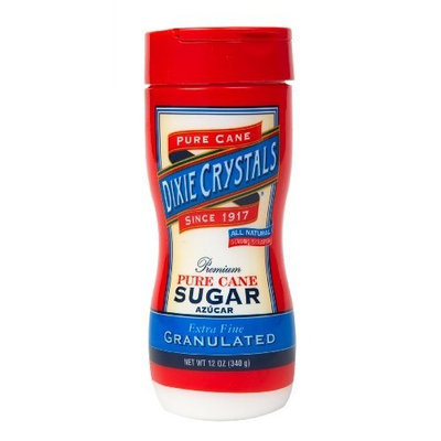 Dixie Crystals ® Dixie Crystals Granulated Sugar Shaker, 12-Ounce (Pack of 6)