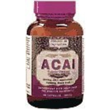 Ony Natural Only Natural Acai 300 Mg, 60-Count