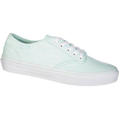 Vans Camden Mint Henna Womens Skate Shoes-8.5,GREEN