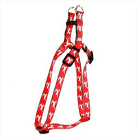 Yellow Dog Design SI-RP103L Reindeer Print Step-In Harness - Large