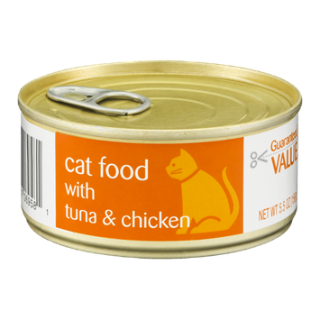 Guaranteed Value Cat Food with Tuna & Chicken