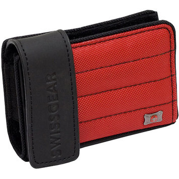 SwissGear Anthem Compact Camera Case, Black/Red