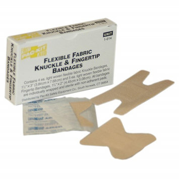 PAC-KIT 1-014G Bandage, Beige, Fabric, Box,3 In L