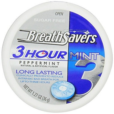 Breath Savers Peppermint Sugar Free Mints