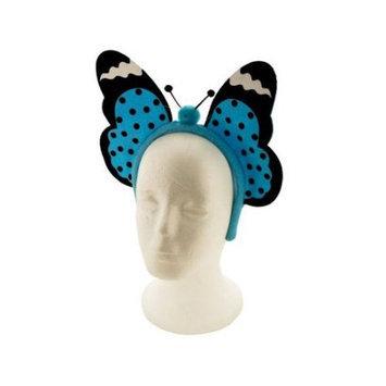 Sunrise Blue Butterfly Headband