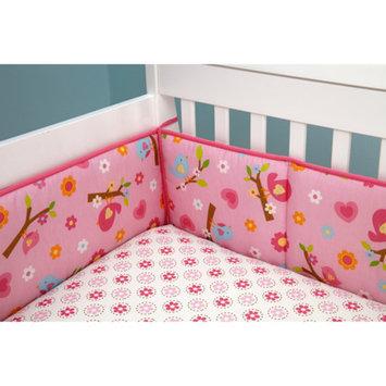 Little Bedding by NoJo Sweet Lil Birds 4-Piece Crib Bumper