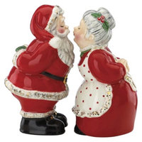 Kathy Ireland Home Kathy Ireland by Gorham Once Upon a Christmas Salt & Pepper Set -
