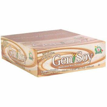 Genisoy Protein Bar Creamy Peanut Yogurt Case of 12 1.98 oz