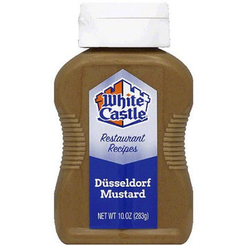 White Castle Dusseldorf Mustard, 10 oz, (Pack of 6)