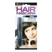 nu pore Hair Mascara Instant Touch up Color Fast Results on Gray Hair