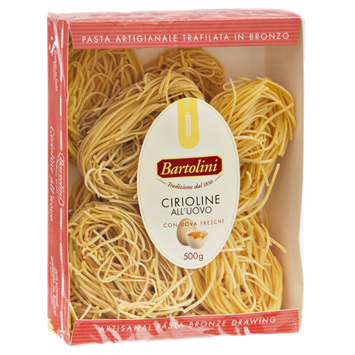 Bartolini Cirioline All'Uovo Artisanal Pasta