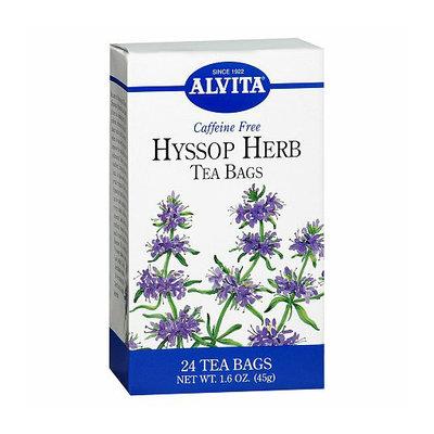 Alvita Caffeine Free Hyssop Herb Tea Bags