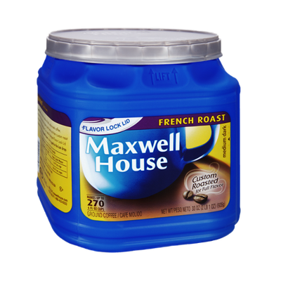 Maxwell House French Roast Medium Dark Roast Ground Coffee