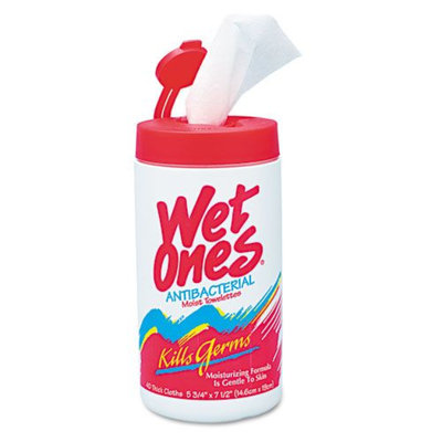 Wet Ones Antibacterial Moist Towelettes - Kmart.com