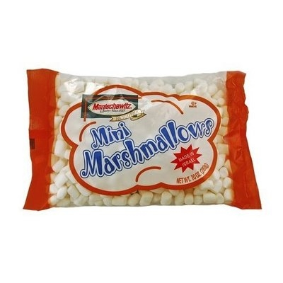 Manischewitz Mini Marshmallows (Israel), 10-Ounce Bags (Pack of 12)