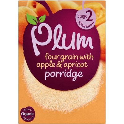 Plum Organics Four Grain With Apple & Apricot Porridge