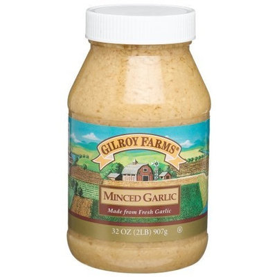 McCormick Gilroy Farms Minced Garlic in Soybean Oil, 32-Ounce Plastic Jars (Pack of 2)
