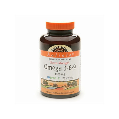Holista Extra Strength Omega 3-6-9 1200 mg Dietary Supplement Softgels