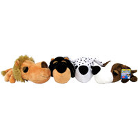 Boss Pet Products FatHedz Dog Toy Pack, Pack of 4 toys
