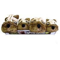Boss Pet Products Stuffablez Dog Toy Pack, Pack of 4 toys