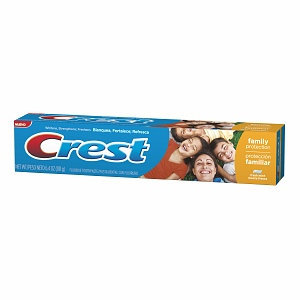 Crest Family Protection Toothpaste