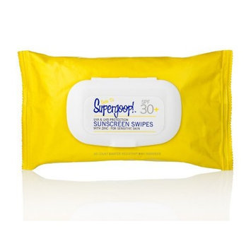 Supergoop! Supergoop SPF 30 Sunscreen Swipes for Sensitive Skin, 40 Count (Packaging may vary)