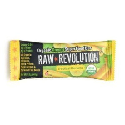 Raw Revolution Organic Tropical Banana Food Bar