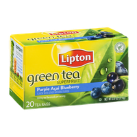 Lipton Purple Acai Blueberry Green Tea Superfruit 20 ct