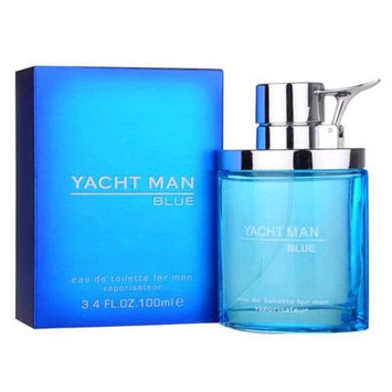 Yacht Man Blue by Myrurgia - 3.4 oz Eau de Toilette Spray for Men