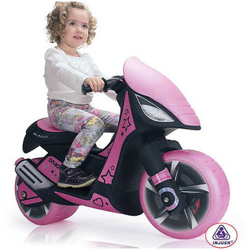 Big Toys USA Inj-6872 Dragon Scooter 6v Pink